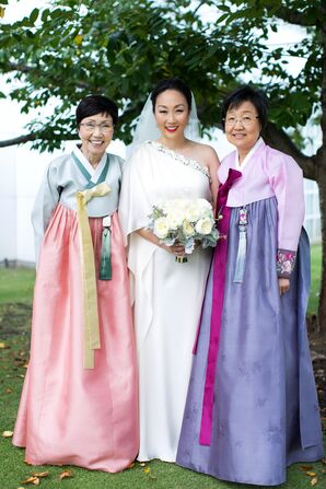 Traditional Chinese Mother Wedding Attire