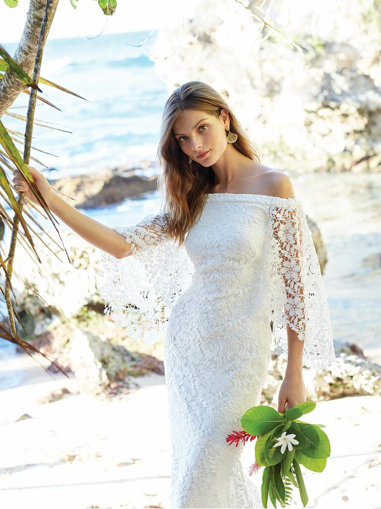 10 Wedding Dresses For A Destination Or Beach Wedding