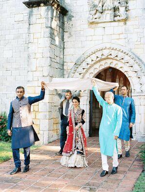 Traditional Indian Entrance at Regal Miami, Florida, Wedding