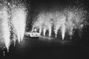 Vintage Rolls-Royce Grand Exit