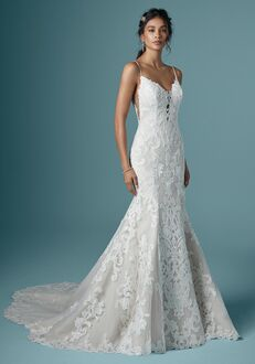 Maggie Sottero LUCRETIA Mermaid Wedding Dress