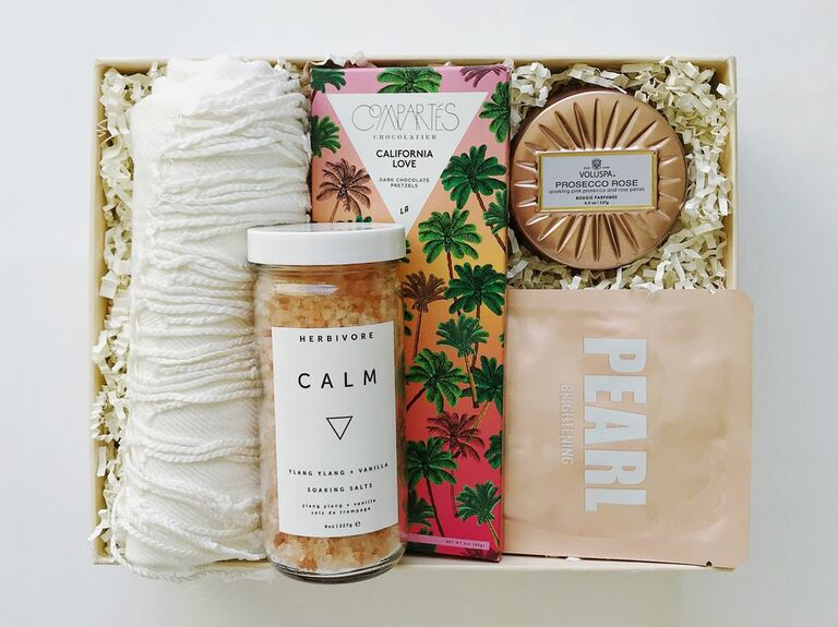 Box Fox pamper giftbox