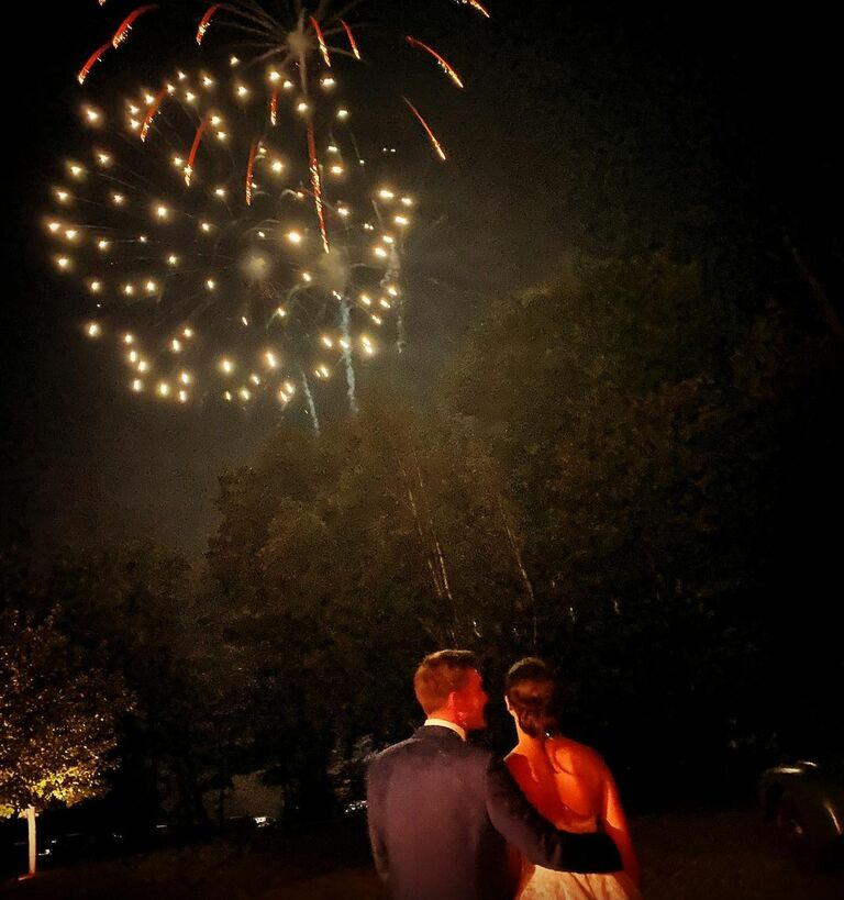 katie couric daughter fireworks