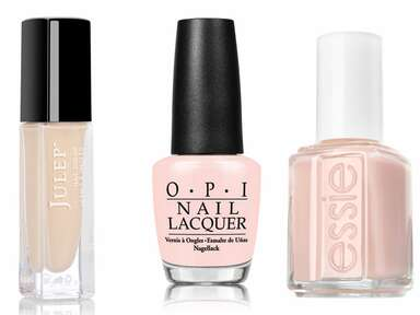 Nude nail polish for your wedding