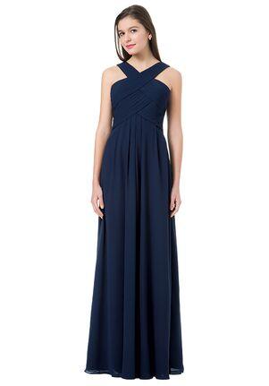Bill Levkoff 1218 Halter Bridesmaid Dress