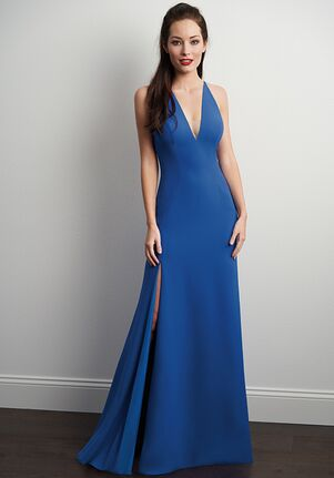 JASMINE P206063 V-Neck Bridesmaid Dress
