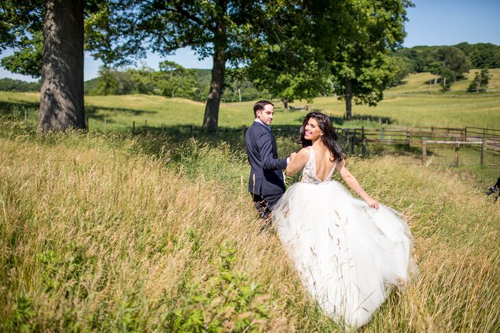 Classic Couple at Blue Hill Farm at Stone Barns in Tarrytown, New York