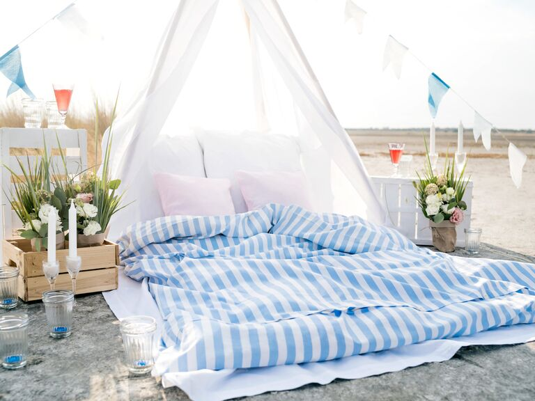glamping bachelorette party idea