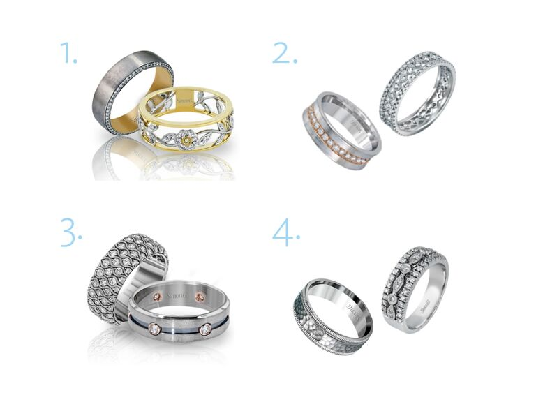 The Knot Dream Wedding rings