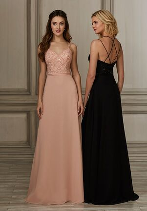 Adrianna Papell Platinum 40155 Sweetheart Bridesmaid Dress