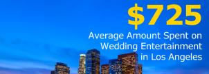Los Angeles Wedding Entertainment Costs