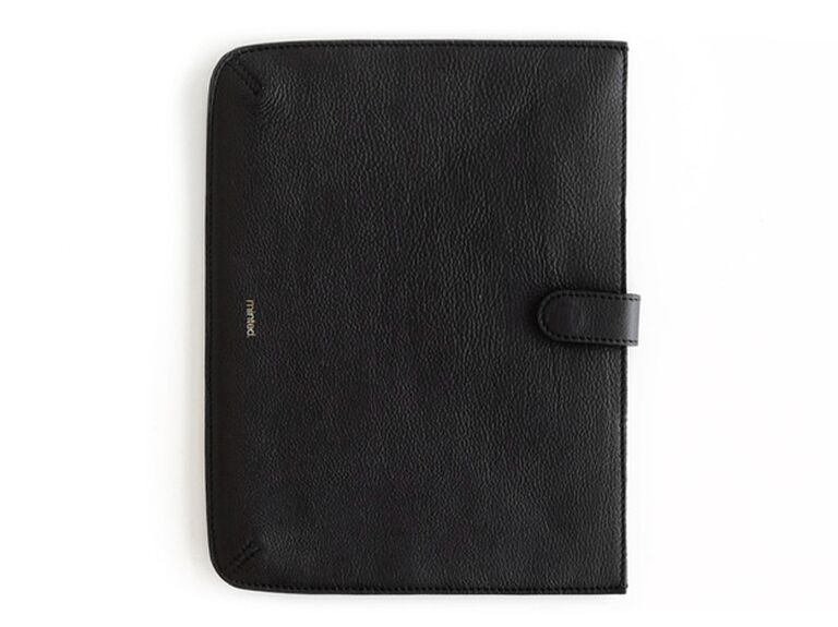 Leather iPad case gift for father-in-law