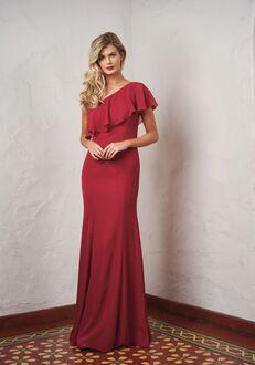 JASMINE P216059 One Shoulder Bridesmaid Dress