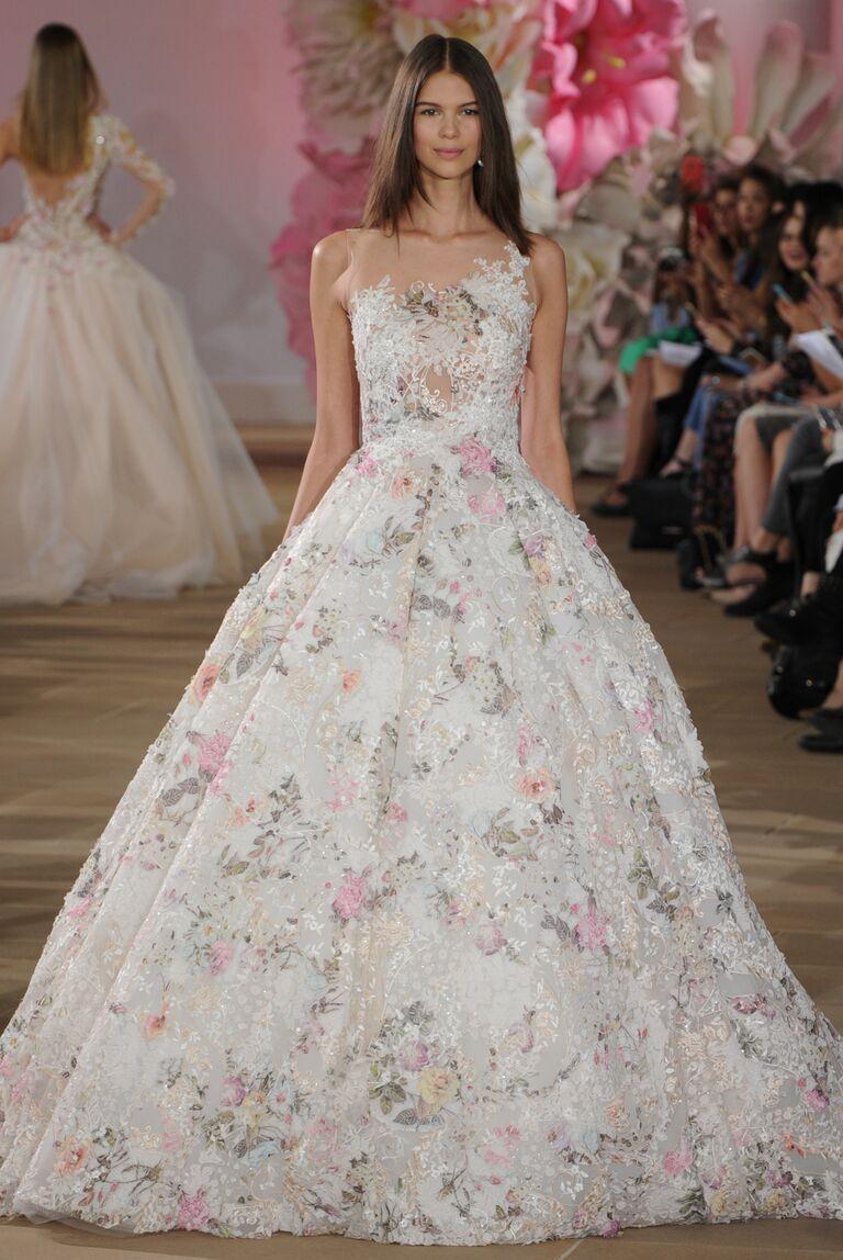Ines Di Santo Spring 2017 Collection: Bridal Fashion Week Photos