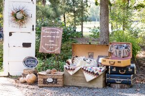 Vintage-Inspired Wedding Reception Decor