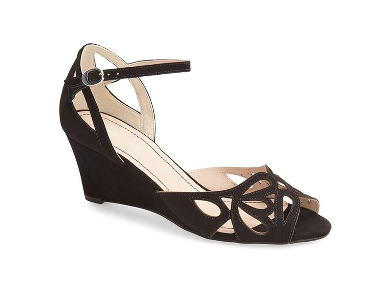 Klub Nico Kismet wedge sandal in Black