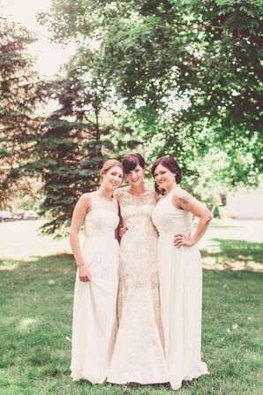 Ivory Bridesmaid Gowns