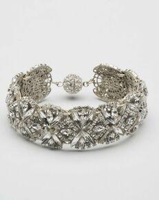 MEG Jewelry Jasmine cuff Wedding Bracelet photo