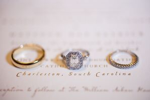 Antique Estate-Style Diamond Engagement Ring