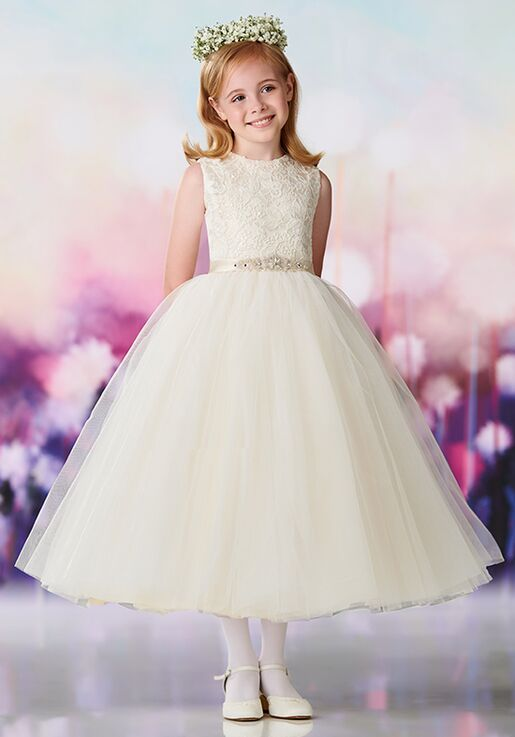 d48c36b9a9c Joan Calabrese by Mon Cheri 119390 Flower Girl Dress - The Knot