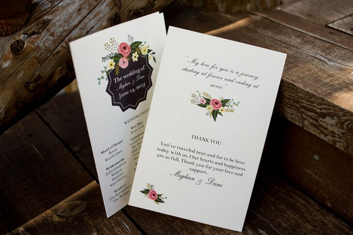 Ivory Stationery With Floral Designs