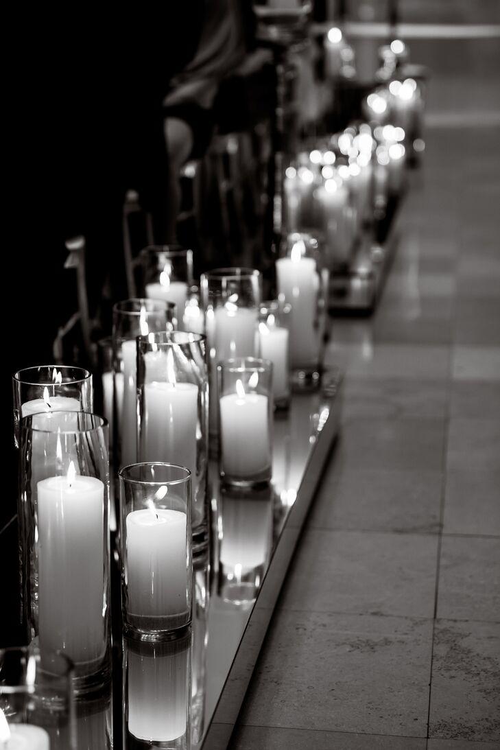 Candle Aisle Decor