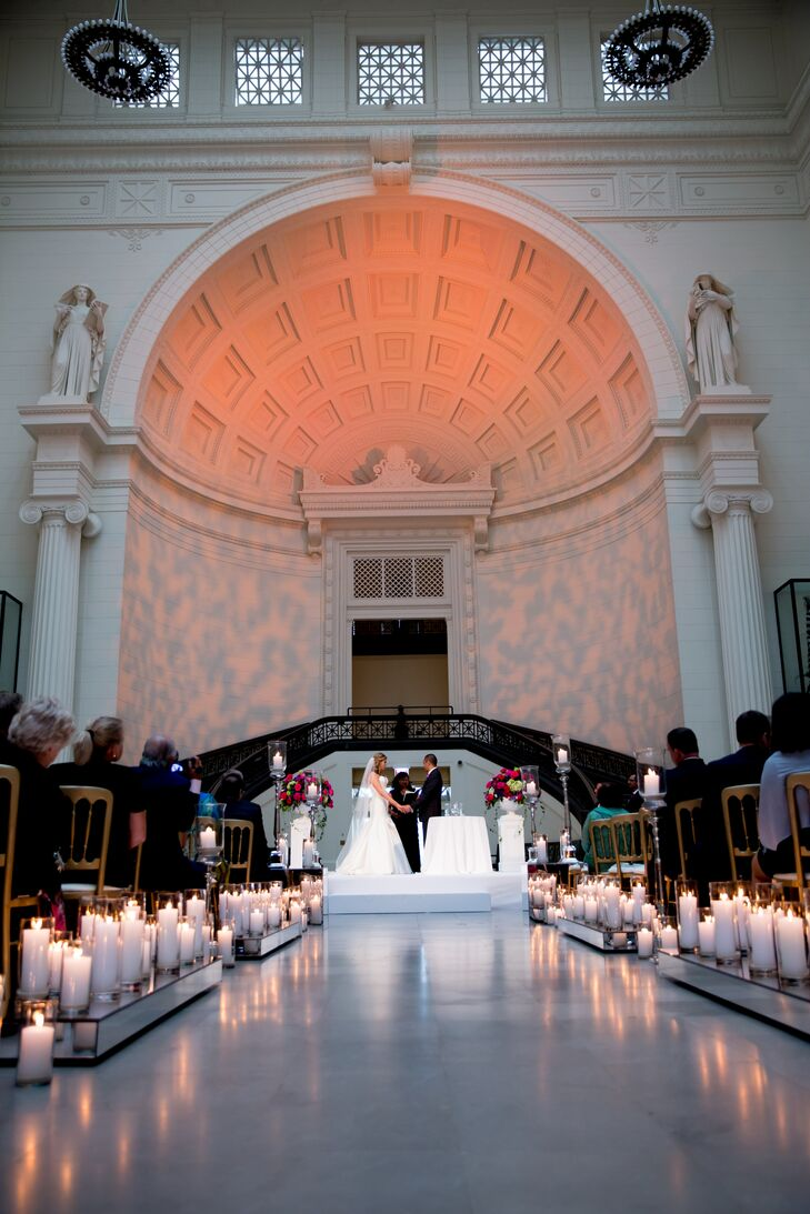Wedding Ceremony at Field Museum of Natural History