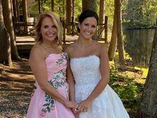 katie couric mother of the bride daughter wedding