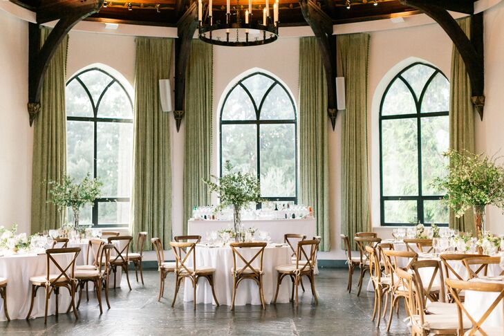 Classic Garden-Themed Reception