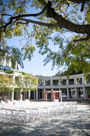 Modern Ceremony at Skirball Cultural Center in Los Angeles, California
