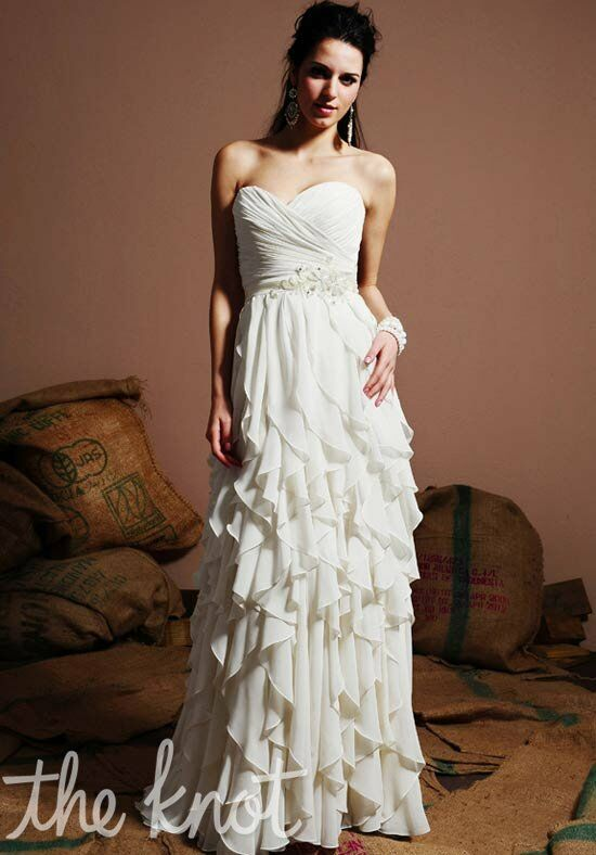 Eden bridals 1380 wedding dress the knot for The knot gift registry