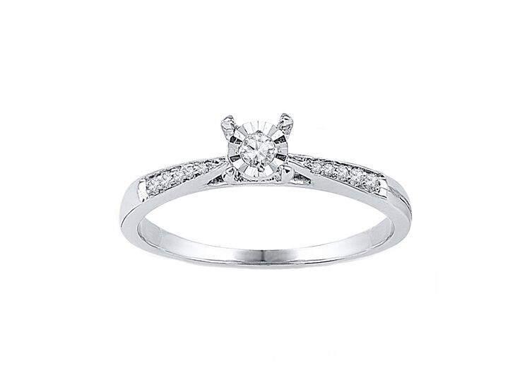 ccdfff32924 Classic Diamond Promise Ring
