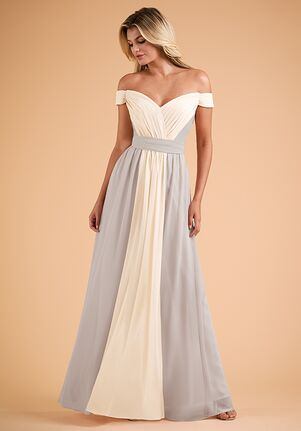 B2 Bridesmaids by Jasmine B223004 Off the Shoulder Bridesmaid Dress