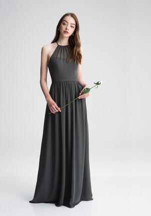 Bill Levkoff 1403 Illusion Bridesmaid Dress