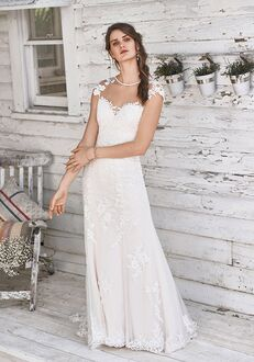 Lillian West 66048 Sheath Wedding Dress