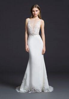 Lazaro 3655 Sheath Wedding Dress