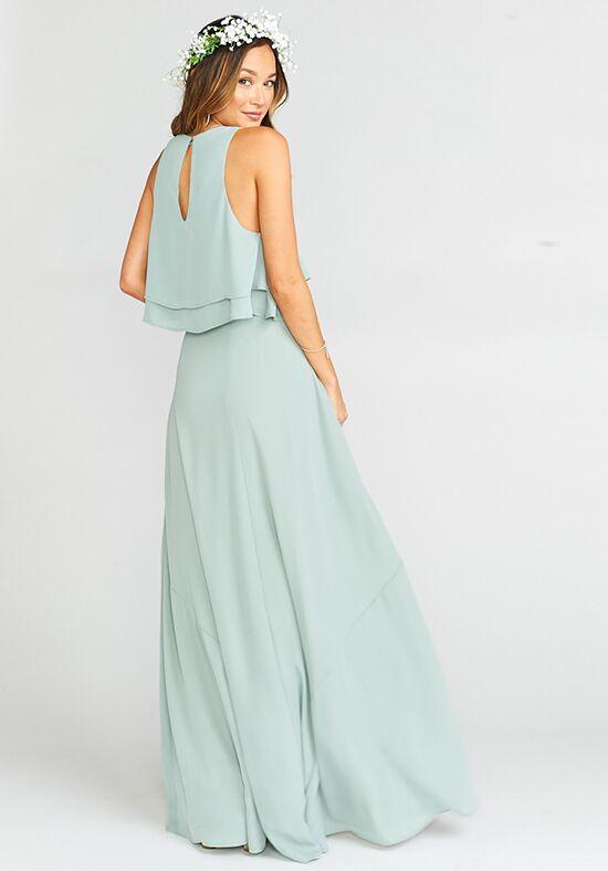 b4a0ca7d4891c Show Me Your Mumu Princess Di Ballgown - Silver Sage Crisp Bridesmaid Dress  - The Knot