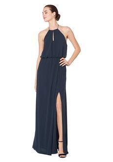 Bill Levkoff 7083 Halter Bridesmaid Dress