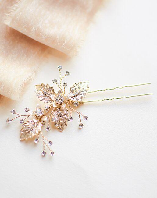 Dareth Colburn Alina Hair Pin (TP-7009-S) Gold, Silver Pins, Combs + Clip