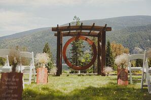 Custom-Made Wedding Arch