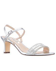 Nina Bridal Noga_Silver Silver Shoe