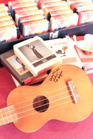 Guitar as Guest Book