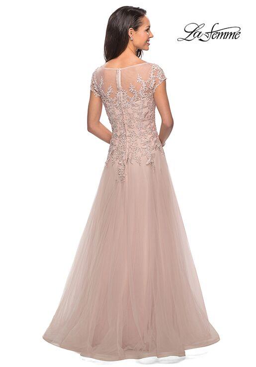 La Femme Evening 26893 Blue Mother Of The Bride Dress
