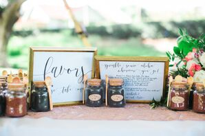 Locally Sourced Wedding Favors