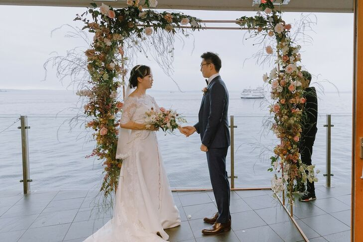 Romantic Waterfront Ceremony at The Edgewater Hotel in Seattle