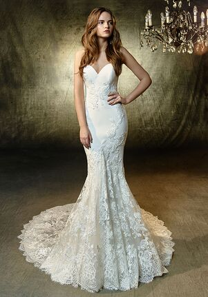 Blue by Enzoani Laura Mermaid Wedding Dress