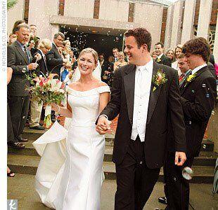 Jennifer Bruce A Black White Wedding In Mission Hills Ks
