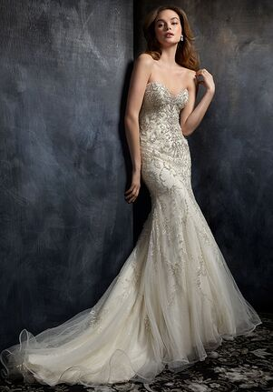 Kenneth Winston 1750 Mermaid Wedding Dress
