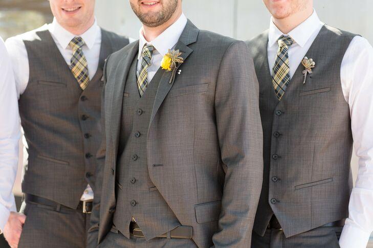 Gray Three-Piece Suits