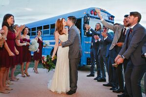 A Bus Ride to the Reception